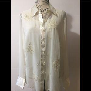 Mark & Spencer 2 piece blouse